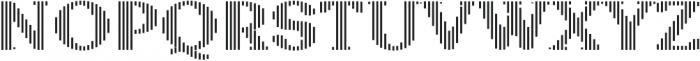 Sicilia Stripes ttf (400) Font UPPERCASE
