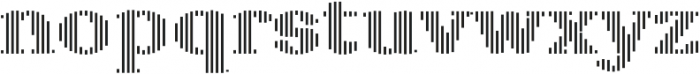 Sicilia Stripes ttf (400) Font LOWERCASE