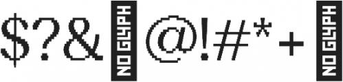 Sicilia pixels otf (400) Font OTHER CHARS