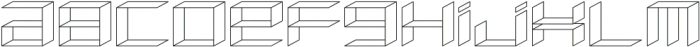 Side View ttf (400) Font LOWERCASE