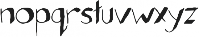 Sideline Bold otf (700) Font LOWERCASE