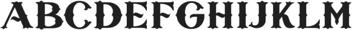 Sieber & Satire otf (400) Font UPPERCASE