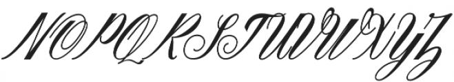 Sigarillos otf (400) Font UPPERCASE
