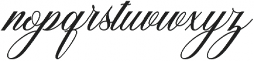 Sigarillos otf (400) Font LOWERCASE
