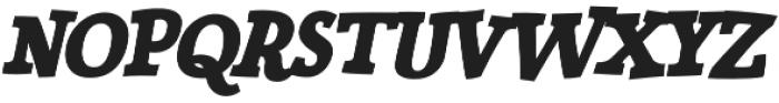Siggy Bold Italic otf (700) Font UPPERCASE