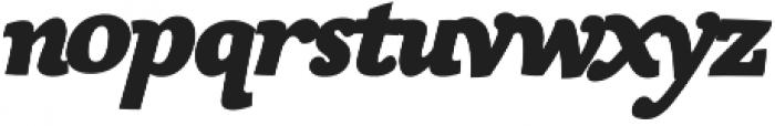 Siggy Bold Italic otf (700) Font LOWERCASE
