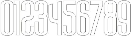 Sigma Line otf (400) Font OTHER CHARS