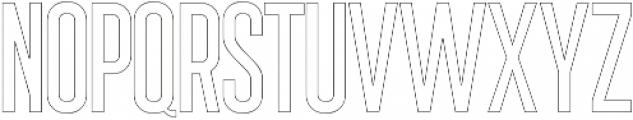 Sigma Line otf (400) Font UPPERCASE