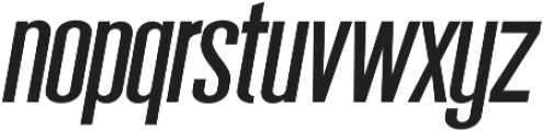 Sigma otf (400) Font LOWERCASE