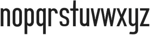 Sigma ttf (400) Font LOWERCASE