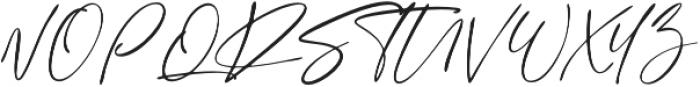 Sign Style  otf (400) Font UPPERCASE