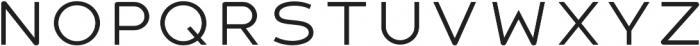 Signal Bold otf (700) Font UPPERCASE