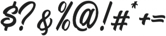 Signation ttf (400) Font OTHER CHARS