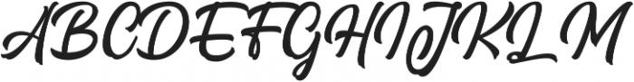 Signation ttf (400) Font UPPERCASE