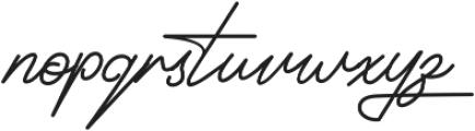 Signatrust 2 otf (400) Font LOWERCASE