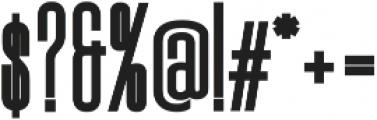 Signattury Sans ttf (400) Font OTHER CHARS