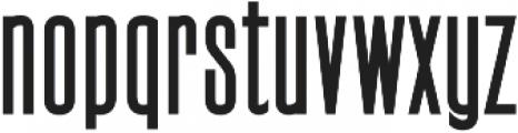 Signattury Sans ttf (400) Font LOWERCASE