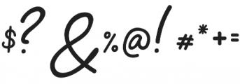 Signatura Regular otf (400) Font OTHER CHARS