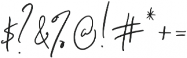 Signature Collection Alt otf (400) Font OTHER CHARS