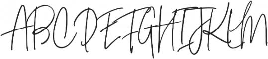 Signature Collection Alt otf (400) Font UPPERCASE