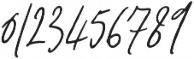 Signature Collection Italic otf (400) Font OTHER CHARS