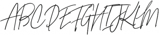 Signature Collection Italic otf (400) Font UPPERCASE