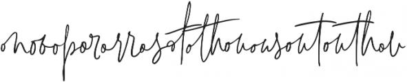 Signature Collection Liga2 otf (400) Font UPPERCASE