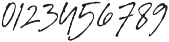 Signature Flavour otf (400) Font OTHER CHARS