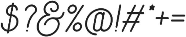 Signature Medium otf (500) Font OTHER CHARS