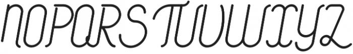 Signature Medium otf (500) Font UPPERCASE