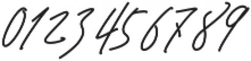 Signature Regular ttf (400) Font OTHER CHARS