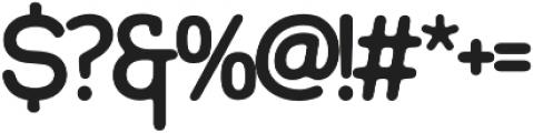 Signature Sans otf (400) Font OTHER CHARS