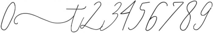 SignatureScript1Left ttf (400) Font OTHER CHARS