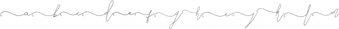SignatureScript1Left ttf (400) Font LOWERCASE
