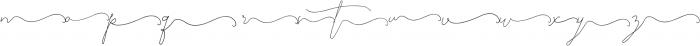 SignatureScript1Right ttf (400) Font LOWERCASE