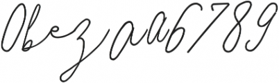 SignatureScriptBoldAlt ttf (700) Font OTHER CHARS