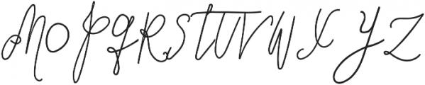 SignatureScriptBoldAlt ttf (700) Font UPPERCASE