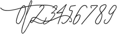 SignatureScriptBoldRight ttf (700) Font OTHER CHARS