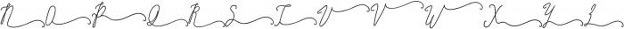 SignatureScriptBoldRight ttf (700) Font UPPERCASE