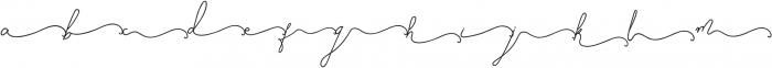 SignatureScriptBoldRight ttf (700) Font LOWERCASE