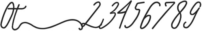 SignatureScriptExtraBoldRight ttf (700) Font OTHER CHARS
