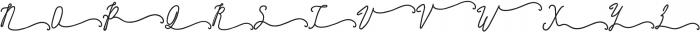 SignatureScriptExtraBoldRight ttf (700) Font UPPERCASE