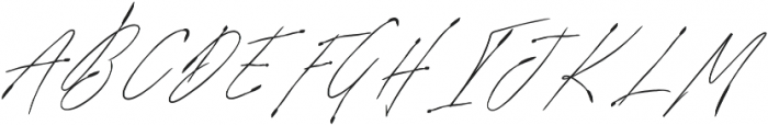 SignatureVP Regular otf (400) Font UPPERCASE