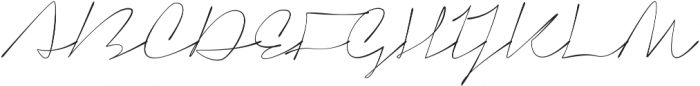 Signerica Thin ttf (100) Font UPPERCASE