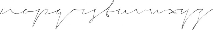 Signerica Thin ttf (100) Font LOWERCASE