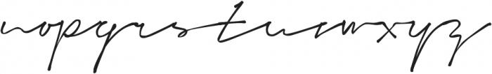 Signeton otf (400) Font LOWERCASE