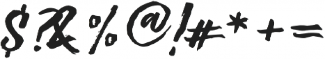Significent Wildbrush otf (400) Font OTHER CHARS
