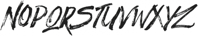 Significent Wildbrush otf (400) Font UPPERCASE