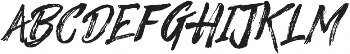 Significent Wildbrush otf (400) Font LOWERCASE