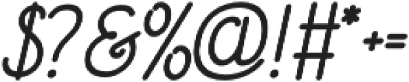 Signist 01 Clean otf (400) Font OTHER CHARS